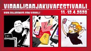 Viraalisarjakuvafestivaali 11.-12.4.2020