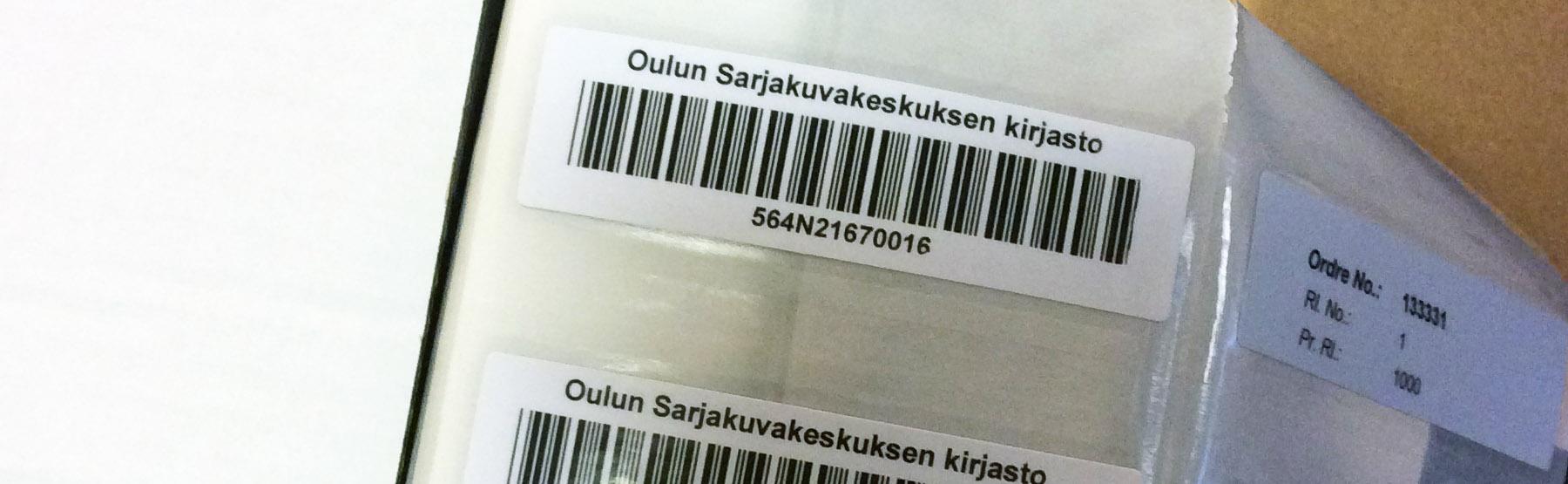 Oulun Sarjakuvakeskuksen kirjasto