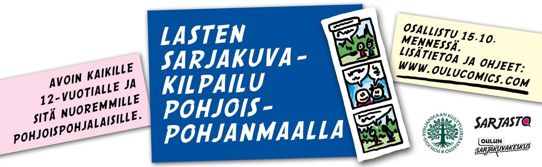 Lasten Sarjakuvakilpailu Pohjois-Pohjanmaalla 2020